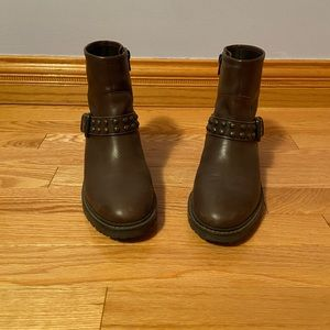 Brown Coach Boots
